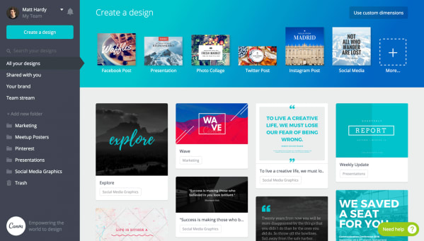 A Quick Guide to Canva
